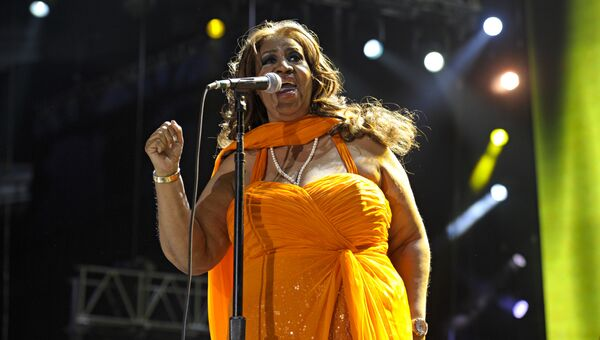 Певица Арета Франклин. Архивное фото