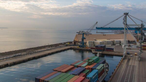 Порт Хельсинборга. Архивное фото