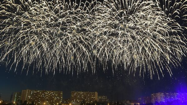 Международный фестиваль фейерверков. Архивное фото