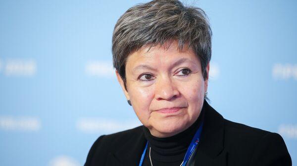 Чрезвычайный и Полномочный Посол Мексиканских Соединенных Штатов в Российской Федерации Норма Пенсадо Морено
