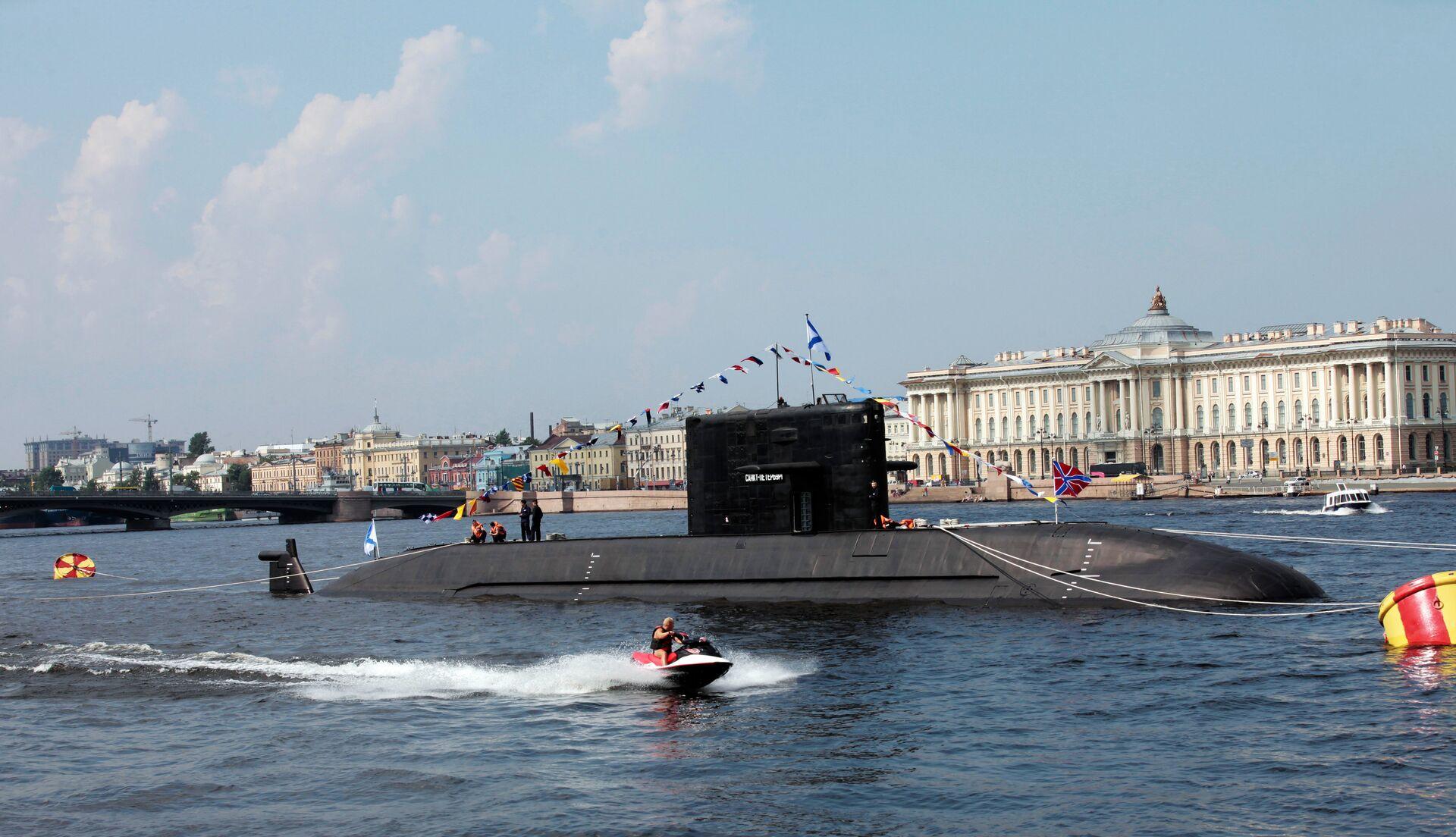 Прибытие в Петербург военных кораблей для участия в Дне ВМФ - РИА Новости, 1920, 24.02.2021
