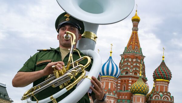 Оркестрант 154-го отдельного комендантского Преображенского полка