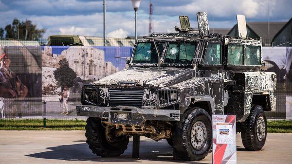 «Джихад-мобиль»  на базе броневика RG-31 Nyala