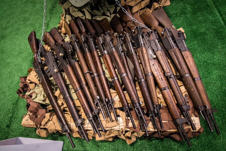 Трофейные французские винтовки