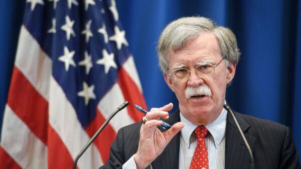 Советник президента США по национальной безопасности Джон Болтон. Архивное фото