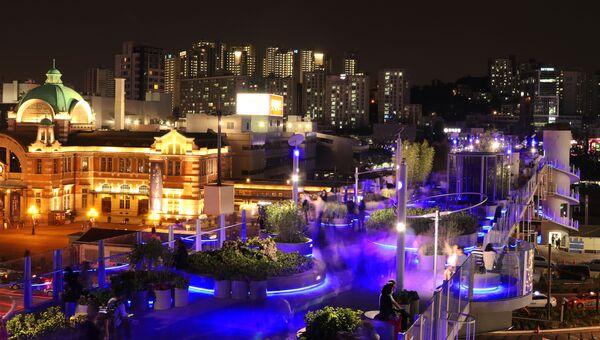 Линейный парк  Seoullo 7017 в Южной Корее