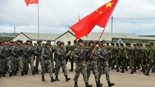 Военнослужащие вооруженных сил КНР