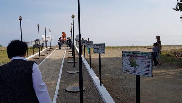 Открытие аллеи Легенды Северного Байкала. 24 августа 2018