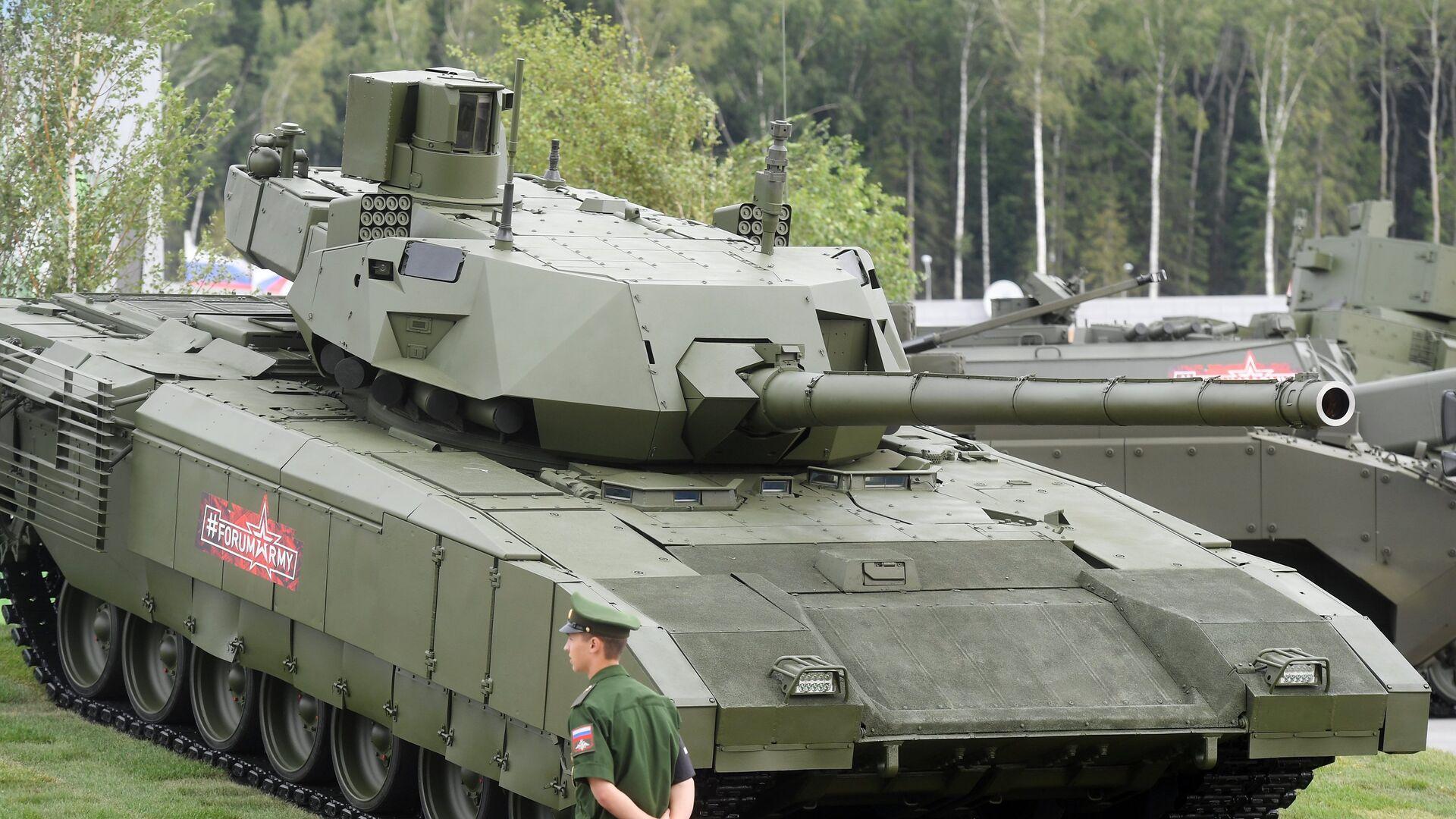 Танк Т-14 Армата на форуме Армия-2018 - РИА Новости, 1920, 28.10.2018