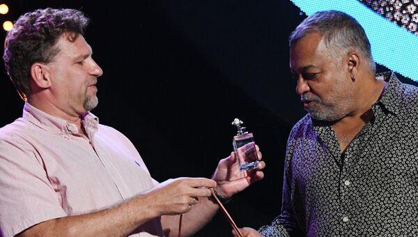 Основатель британской группы Incognito Жан-Поль Блуи Моник на 16-м международном музыкальном фестивале Koktebel Jazz Party