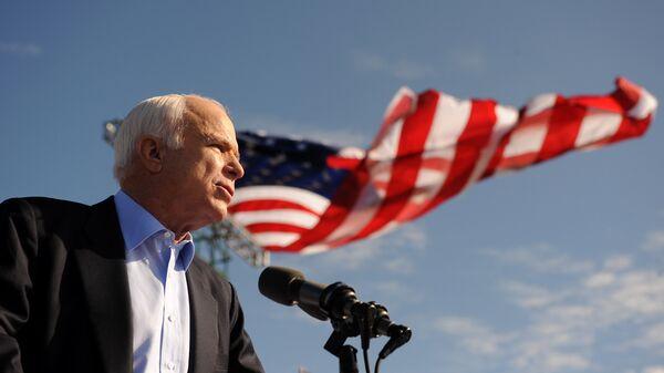 Политик-республиканец сенатор США Джон Маккейн