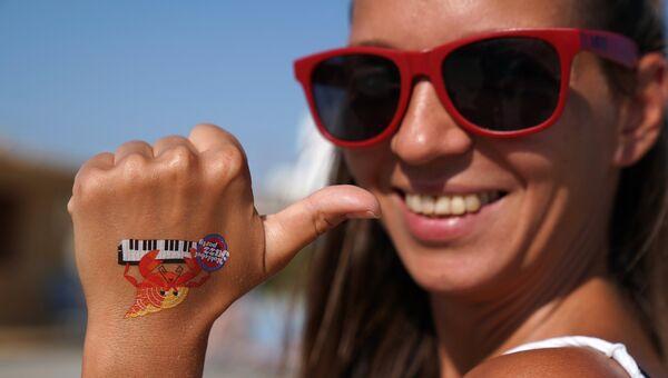 Девушка на 16-м международном музыкальном фестивале Koktebel Jazz Party