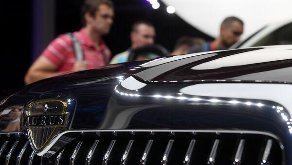 Автомобиль Aurus. Архивное фото
