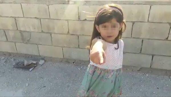 Стоп-кадр из видео, опубликованного на странице шестилетней сирийской девочки Халы