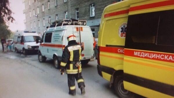 Пожар в Новосибирской областной клинической больнице. 30 августа 2018