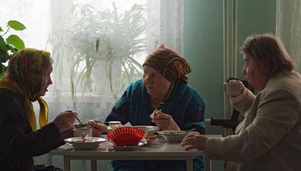 Дом-интернат для престарелых и инвалидов в поселке Пролетарий Новгородской области. Архивное фото