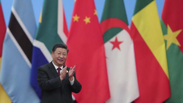 Председатель КНР Си Цзиньпин на Форуме сотрудничества Китай-Африка. 4 сентября 2018