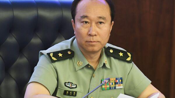 Атташе по вопросам обороны при посольстве КНР в РФ генерал-майор Куй Яньвэй