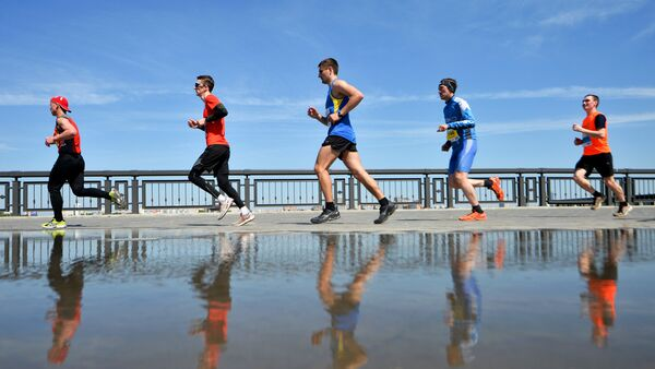 Участники марафона. Архивное фото
