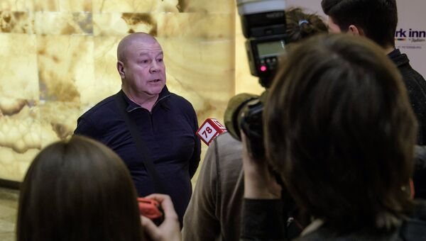 Актер Сергей Селин отвечает на вопросы журналистов