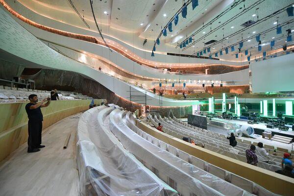 Большой концертный зал МКЗ Зарядье