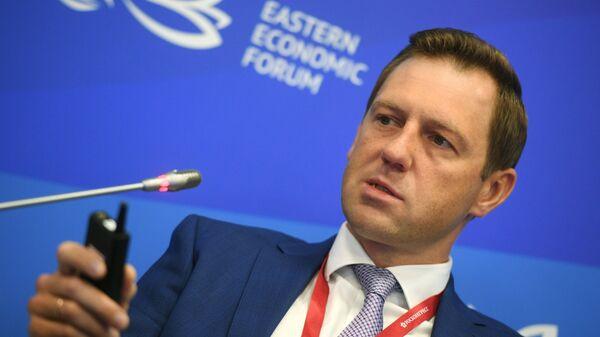 Генеральный директор АО Росгеология Роман Панов на Восточном экономическом форуме