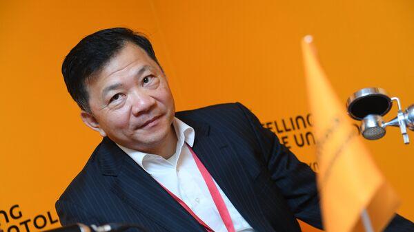 Генеральный директор Медиакорпорации Китая Шэнь Хайсюн