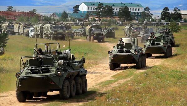 Российские военные приступили к крупнейшим учениям последних 40 лет