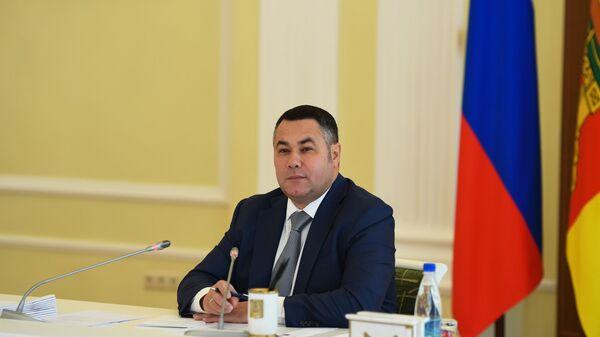 Губернатор Тверской области Игорь Руденя. Архивное фото
