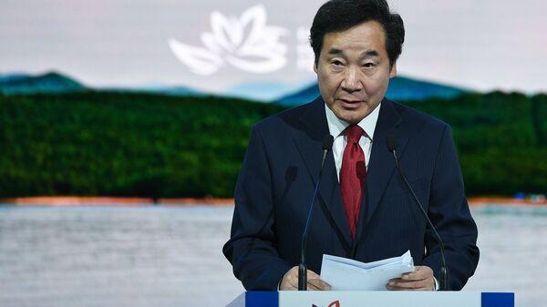 Премьер-министр Южной Кореи Ли Нак Ён