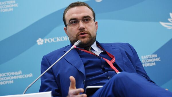 Заместитель министра РФ по развитию Дальнего Востока Александр Крутиков на IV Восточном экономическом форуме