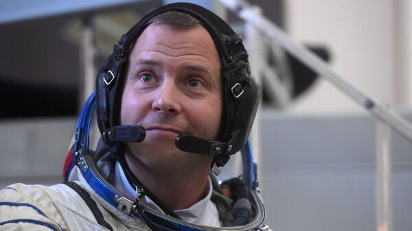 Член основного экипажа МКС-57/58 астронавт НАСА Ник Хейг