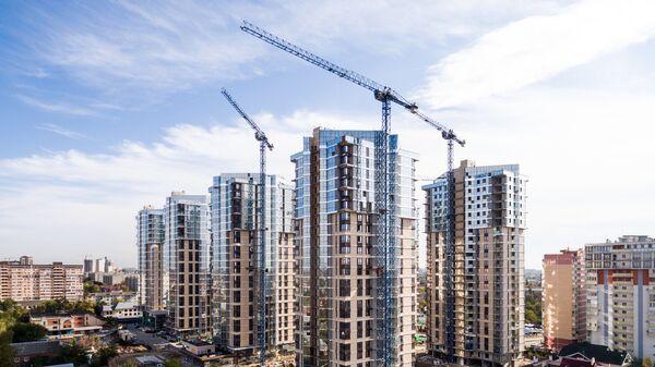 Строительство многоэтажных домов в Краснодаре
