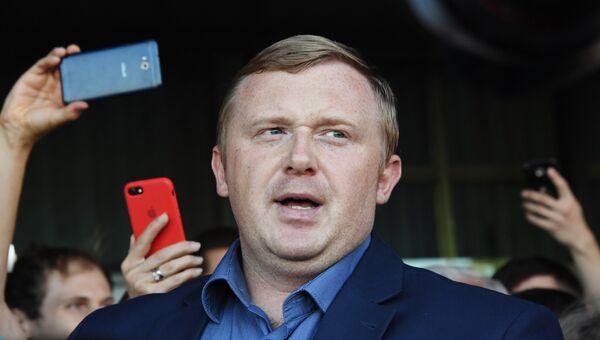 Кандидат в губернаторы от КПРФ, депутат Законодательного собрания Приморья Андрей Ищенко, архивное фото