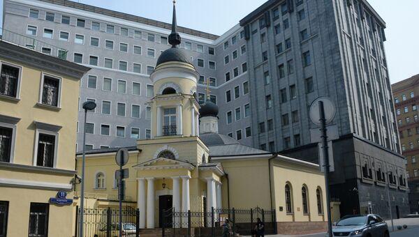 Церковь Софии Премудрости Божией у Пушечного двора, что на Лубянке (1692 г.) на Пушечной улице в Москве