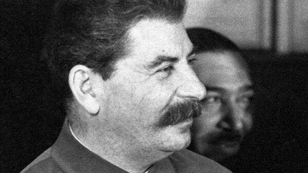 Генеральный секретарь ЦК ВКП(б) Иосиф Сталин