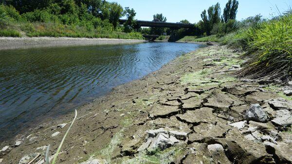 Канал Северский Донец - Донбасс, по которому идет водоснабжение Донецкой области