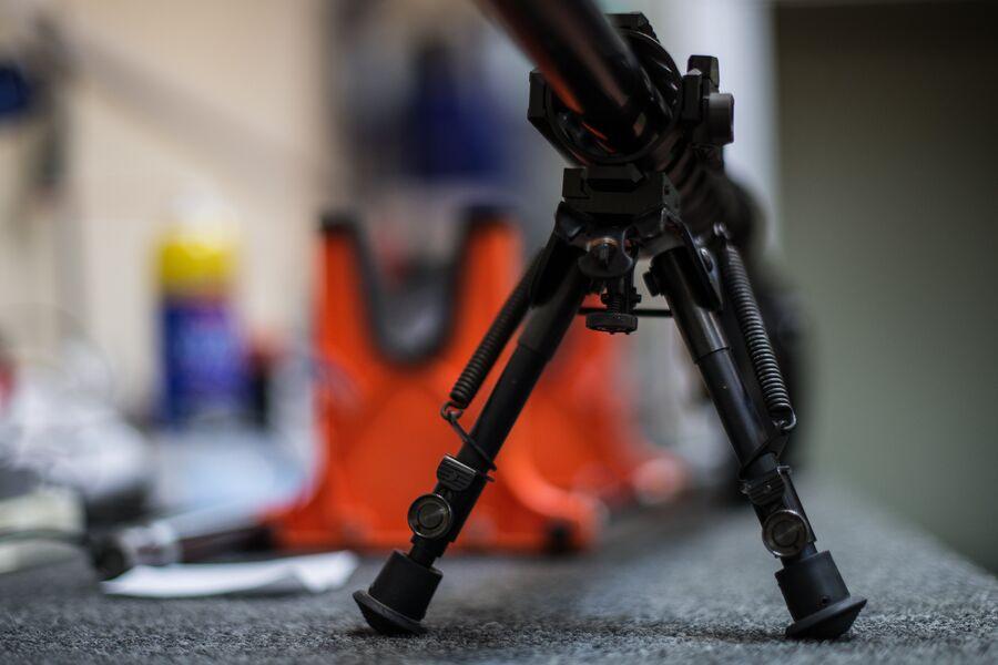 Снайперская винтовка на сошках на заводе Lobaev Arms