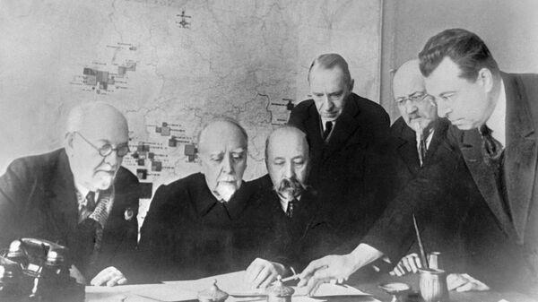 Участники комиссии по разработке плана ГОЭЛРО