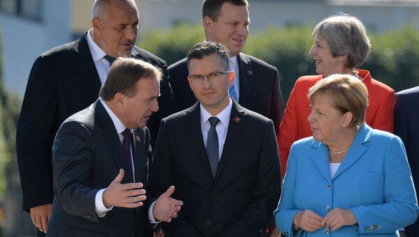 Неформальная встреча глав стран ЕС в Зальцбурге