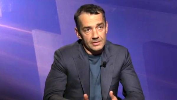 Стоп-кадр видео интервью президента ГК Компьюлинк Михаила Ляща