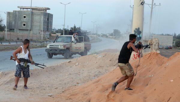 Столкновения между вооруженными группами в Триполи, Ливия. 21 сентября 2018