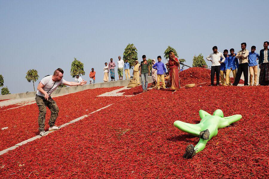 Бангладеш. Богра. Бэкстейдж проекта GarlicMan