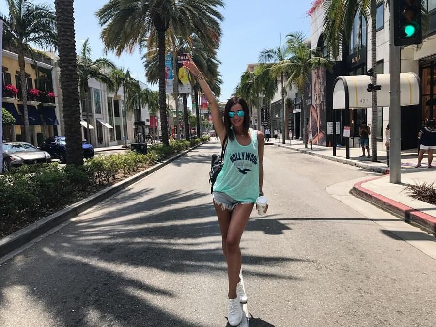 Ольга Бузова в Лос-Анджелесе