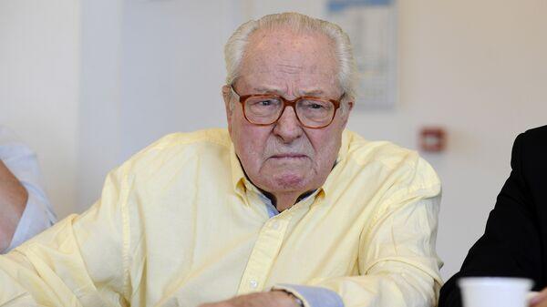Почётный председатель французской крайне-правой партии Национальный фронт Жан-Мари Ле Пен