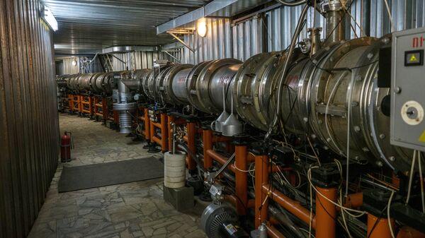 Ускорительный комплекс Объединенного института ядерных исследований в Дубне.