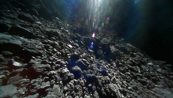 Поверхность астероида Рюгю