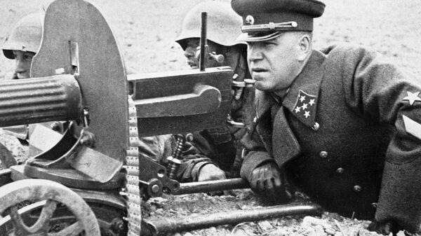 Генерал армии Георгий Жуков