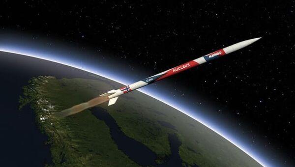 Норвежская ракета Nucleus. Архивное фото