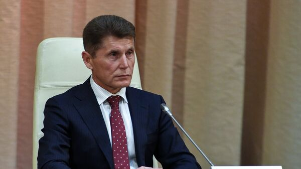 Врио губернатора Приморского края Олег Кожемяко. Архивное фото